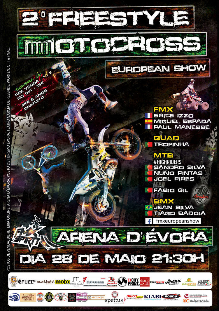 Normal 2 freestyle motocross european show