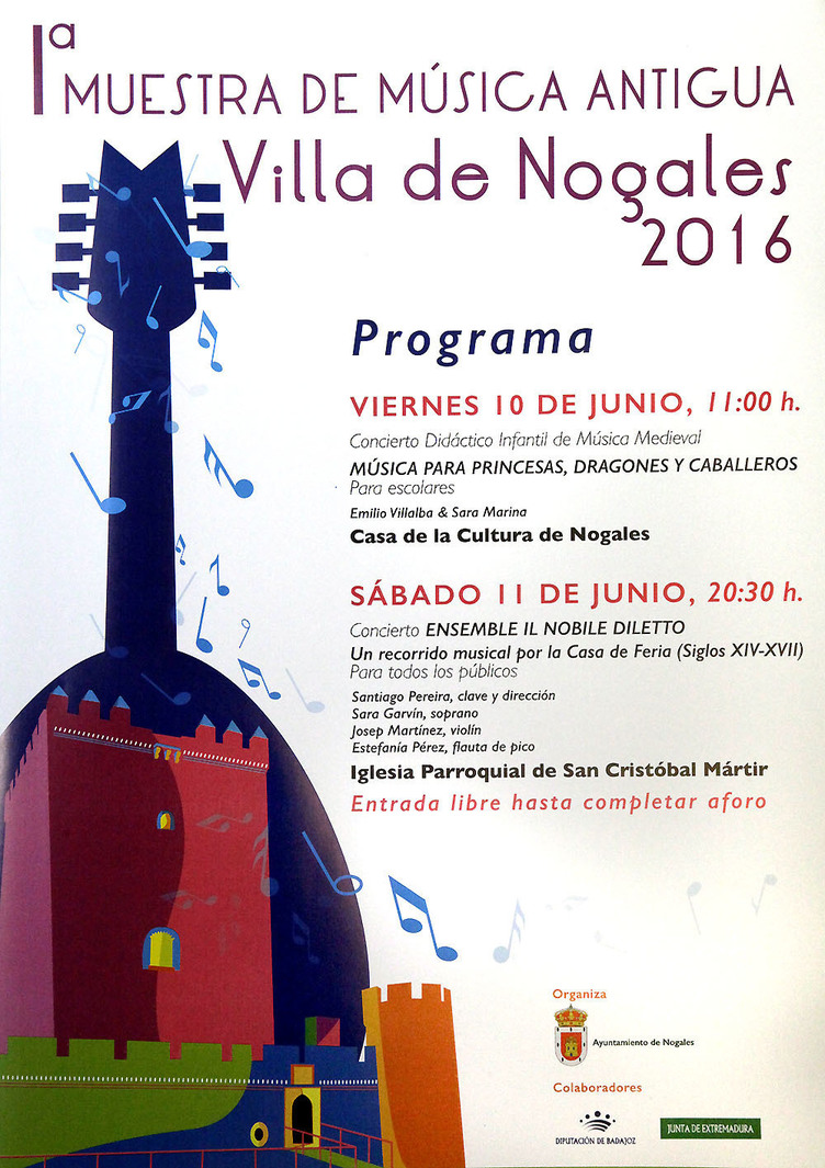 Normal i muestra de musica antigua en nogales