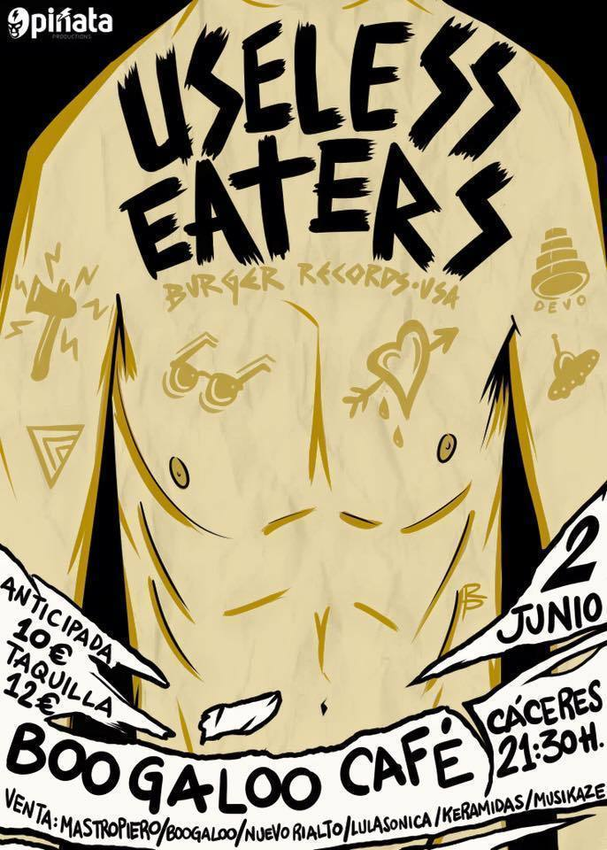 Normal concierto useless eaters en caceres