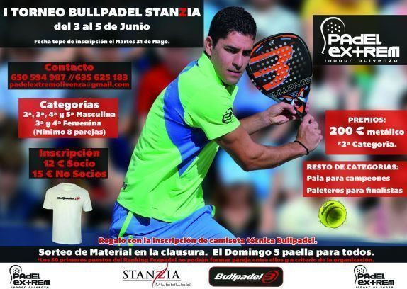 Normal i torneo bullpadel stanzia en olivenza