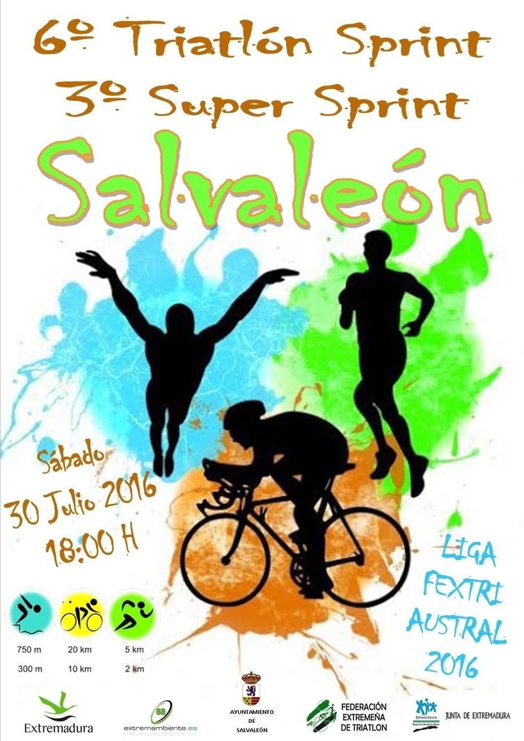 Normal vi triatlon sprint en salvaleon