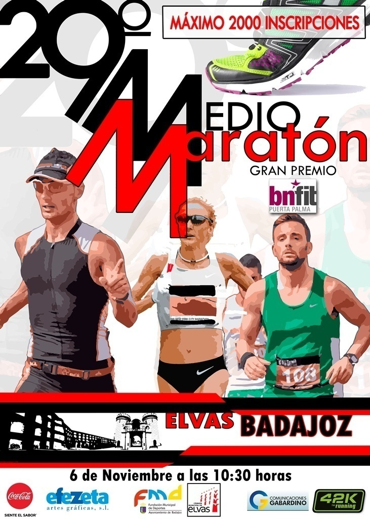 Normal 29 medio maraton elvas badajoz