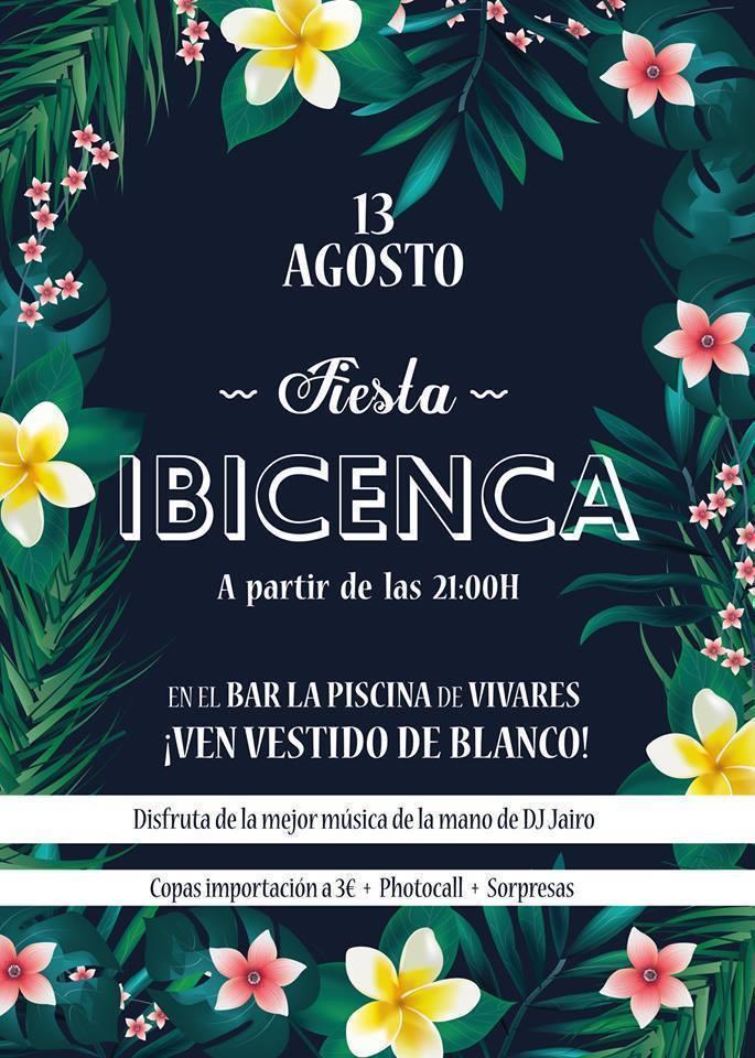 Fiesta ibicenca en vivares experiencia en vivares extremadura com - Fiesta ibicenca ...