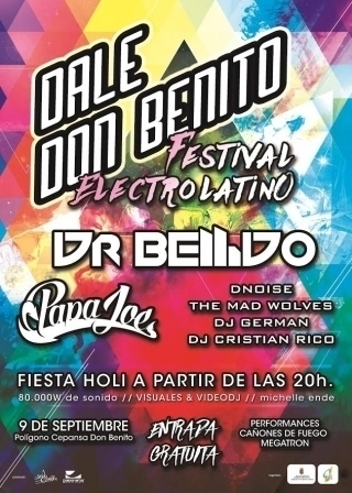 Normal festival electrolatino en don benito