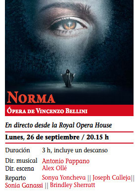 Normal opera norma en caceres
