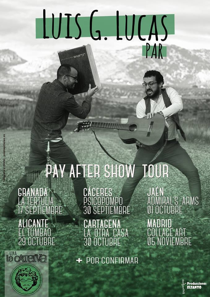 Normal pay after show tour en caceres