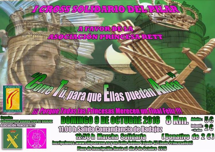 Normal i cross solidario del pilar en badajoz