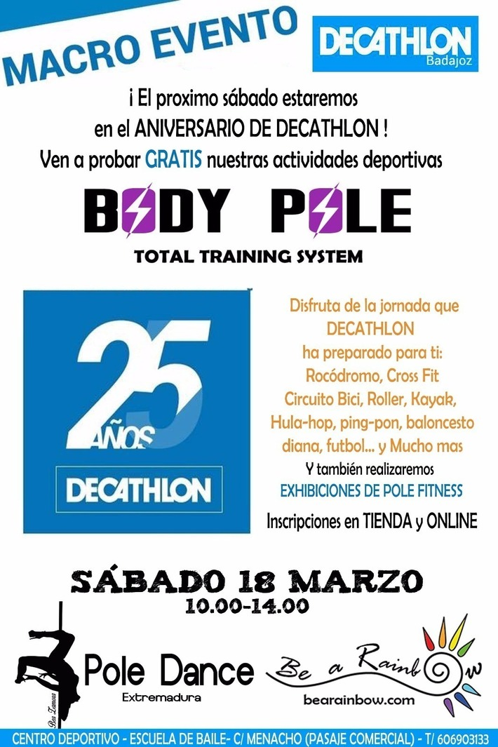 Macro Evento 25 Años Decathlon