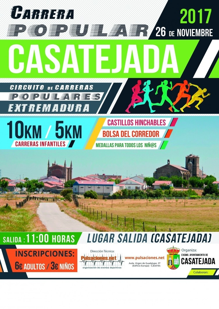 I Carrera Popular de Casatejada