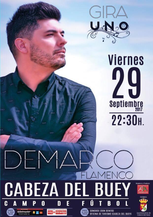 Concierto Demarco Flamenco en Cabeza del Buey - Concierto en Cabeza ...