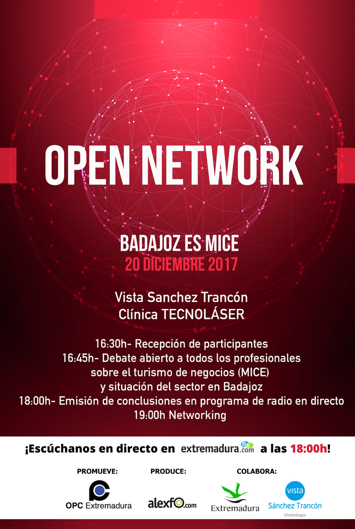 Open Network BADAJOZ ES MICE