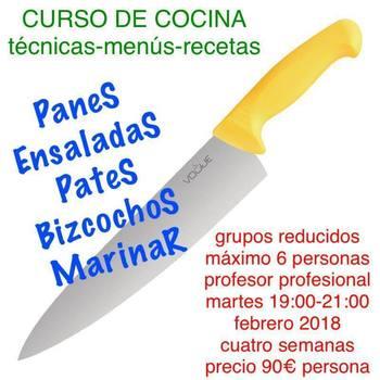 Curso de cocina villanueva de la serena curso en for Cursos de cocina en badajoz