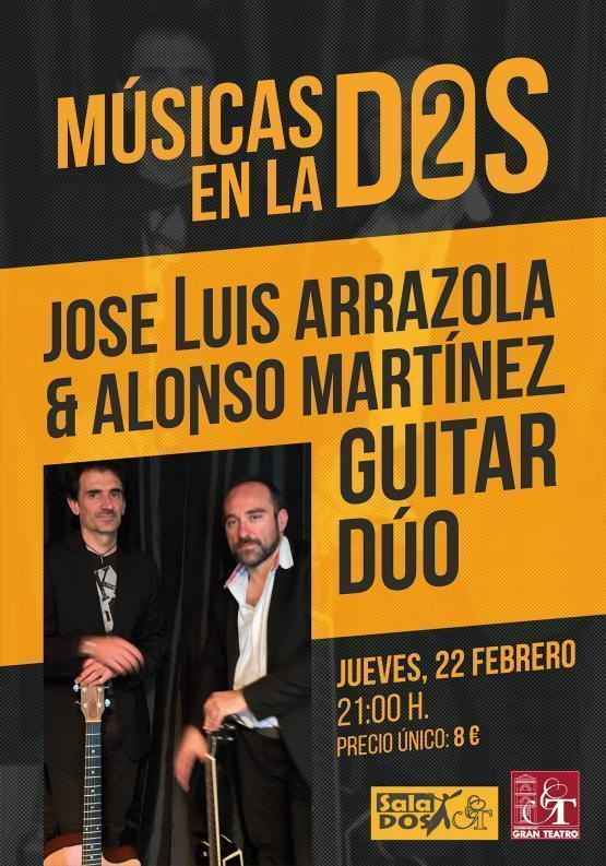 Concierto de Jose Luis Arrazola & Alonso Martinez Guitar Duo - Cáceres