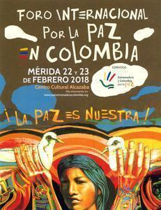 Normal foro internacional por la paz en colombia merida 25