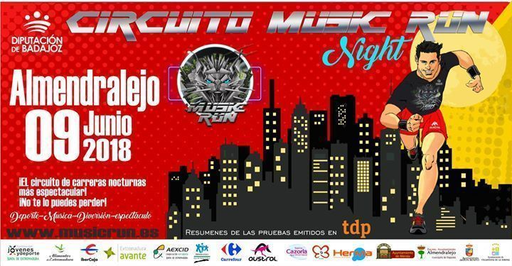 Music Run - Almendralejo