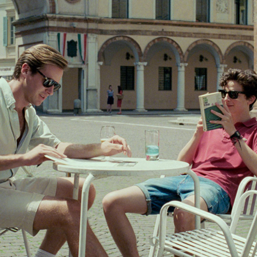 "Cine ""Call me by your name"" - Plasencia"