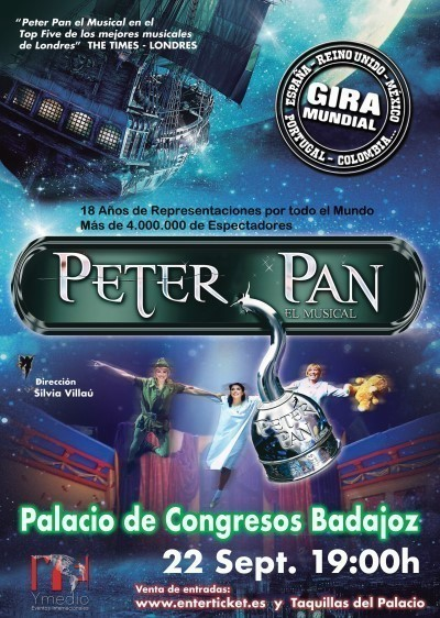 'Peter Pan, El Musical' - Badajoz