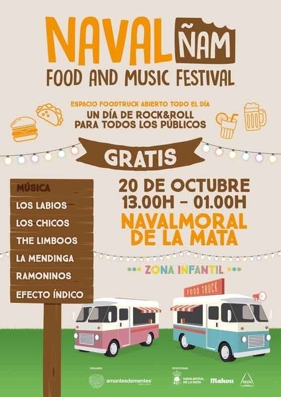 'NavalÑAM' Food and Music Festival - Navalmoral de la Mata
