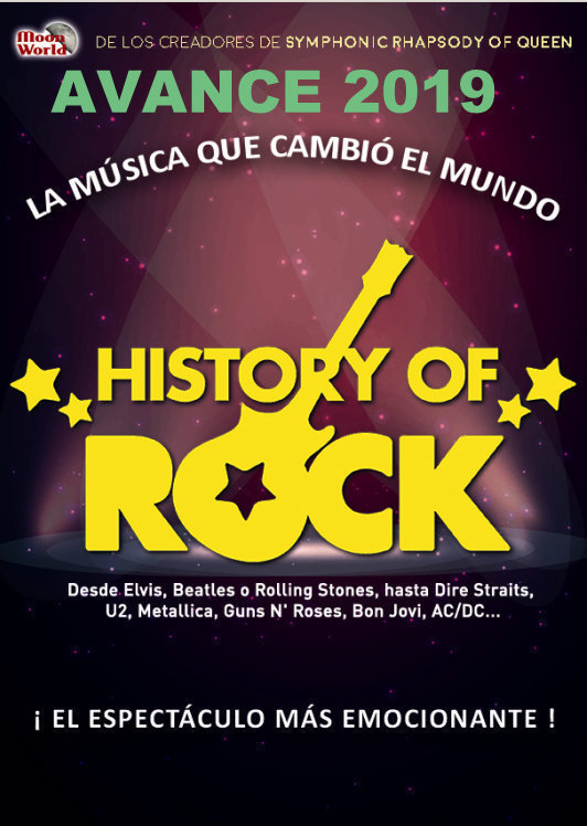 Espectáculo 'History of rock' - Badajoz