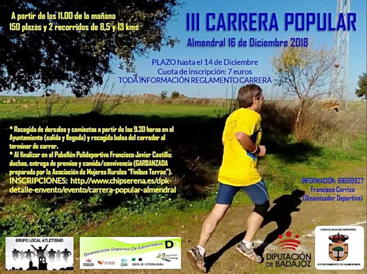 III Carrera Popular de Almendral