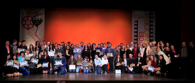 Gala de entrega de premio de Plasencia Encorto e International Youth Film Festival - Plasencia