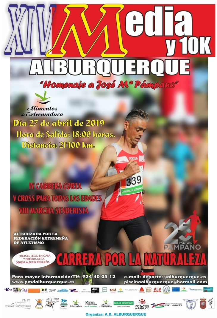 Normal xiv media y 10k de alburquerque homenaje a jose m pampano 58