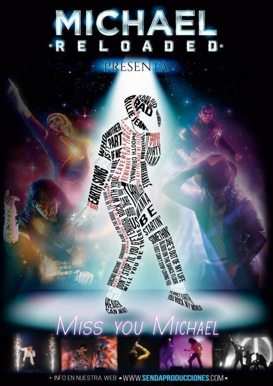 "Musical: ""Miss you Michel""  - Tributo a Michel Jackson"