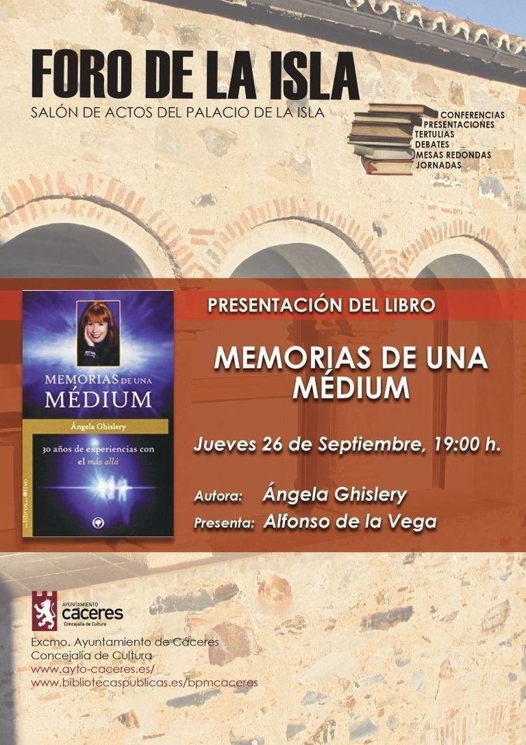 Normal presentacion del libro memorias de una medium 1