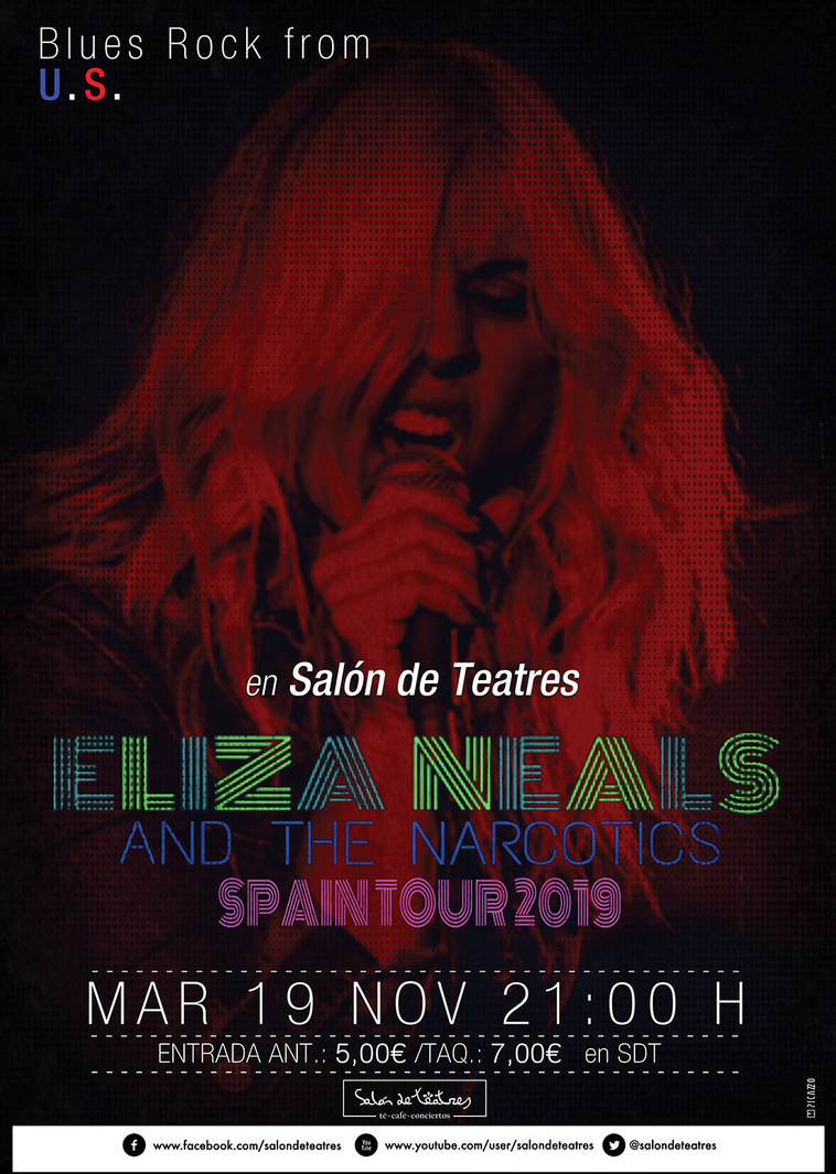 ELIZA NEALS & The Narcotics (Blues Rock / USA)