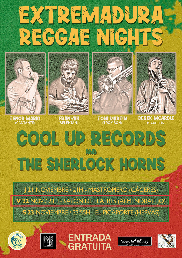 """Cool Up Records & The Sherlock Horns"" Set Live"