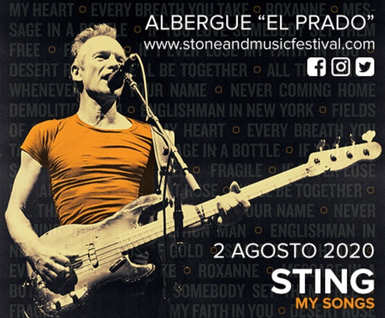 Normal concierto de sting en merida extremadura stone music festival 2020 0