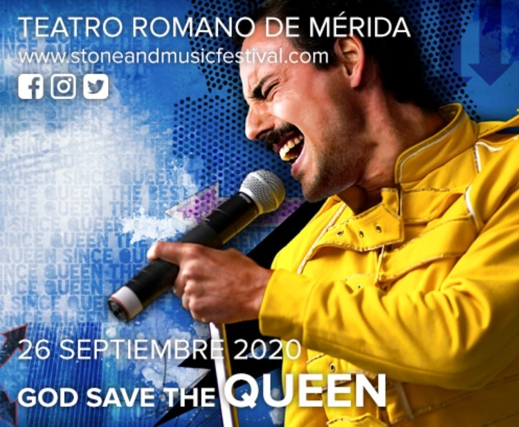 "Concierto de ""God Save the Queen"" en Mérida - Stone & Music Festival 2020"