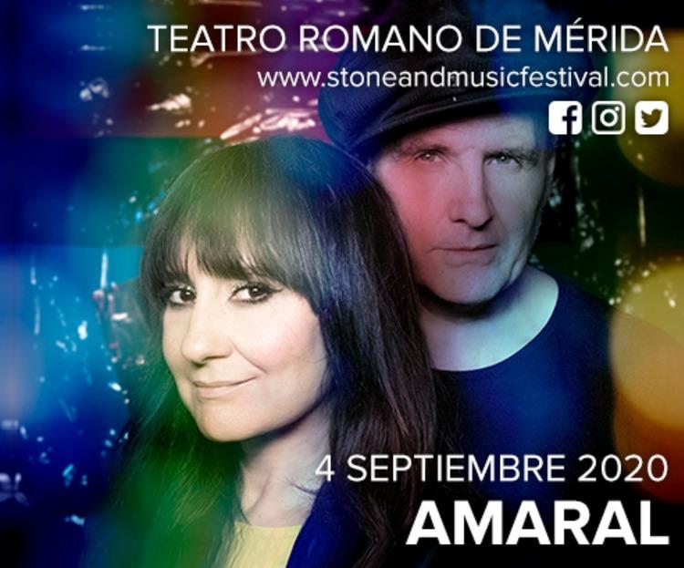 Concierto de Amaral en Mérida - Stone & Music Festival 2020