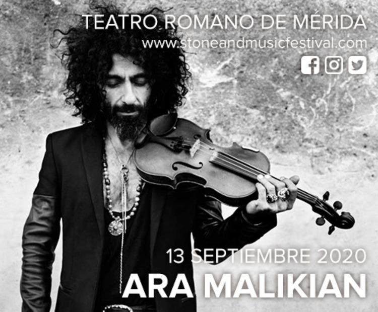 Concierto de Ara Malikian en Mérida - Stone & Music Festival 2020
