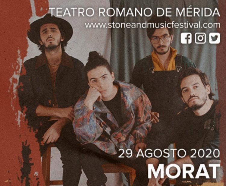 Concierto de MORAT en Mérida - Stone & Music Festival 2020