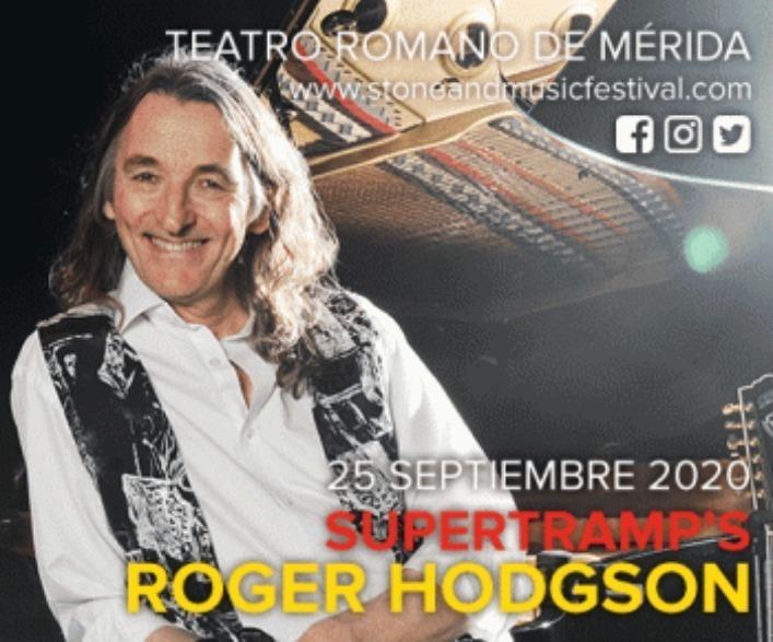 Concierto de Supertram´s Roger Hodgson en Mérida - Stone Music Festival 2020
