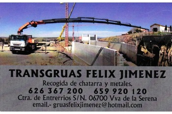 Normal gruas y desguace felix jimenez