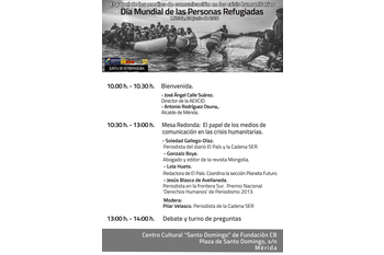 Cartel jornadas mcm refugiados aexcid 20 6 16 normal 3 2