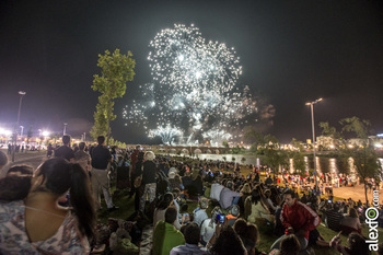 Fuegos artificiales feria de san juan badajoz 2015 jv fuegos artificiales normal 3 2