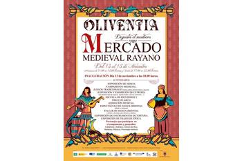 Cartel mercado medieval rayano oliventia 2015 normal 3 2